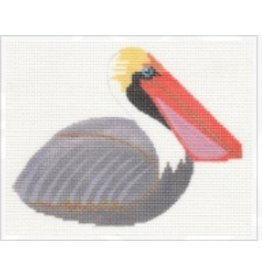 Labors of Love Grey Pelican - Clip-on Bird