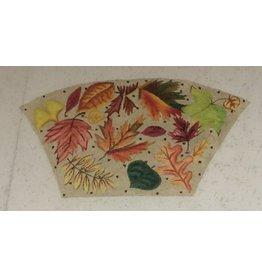 Elizabeth Turner Autumn Leaves w/Beige background<br />Front, Back &amp; Gusset
