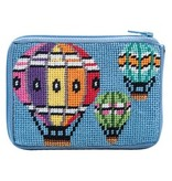 Alice Peterson Balloons in Flight Coin purse/credit card case