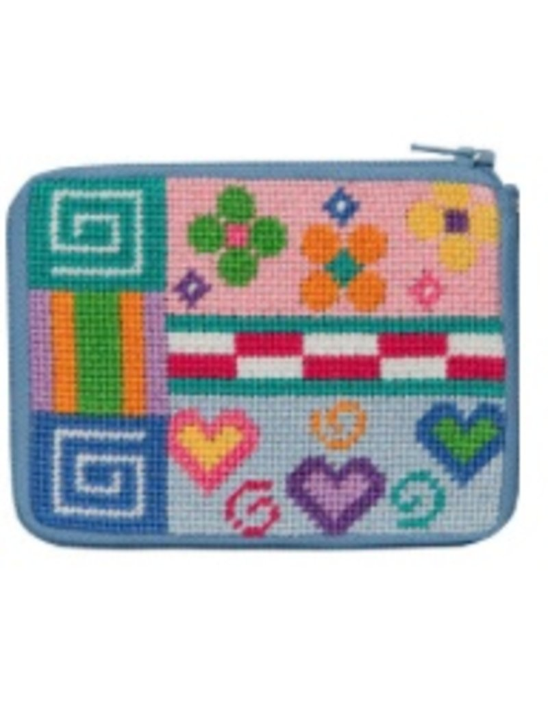 Alice Peterson Patchwork Coin purse/credit card case