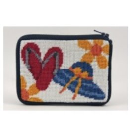 Alice Peterson Beach Accessories credit card case/coin purse