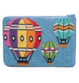 Alice Peterson Balloons in Flight cosmetic purse