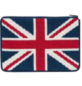 Alice Peterson British Flag cosmetic purse