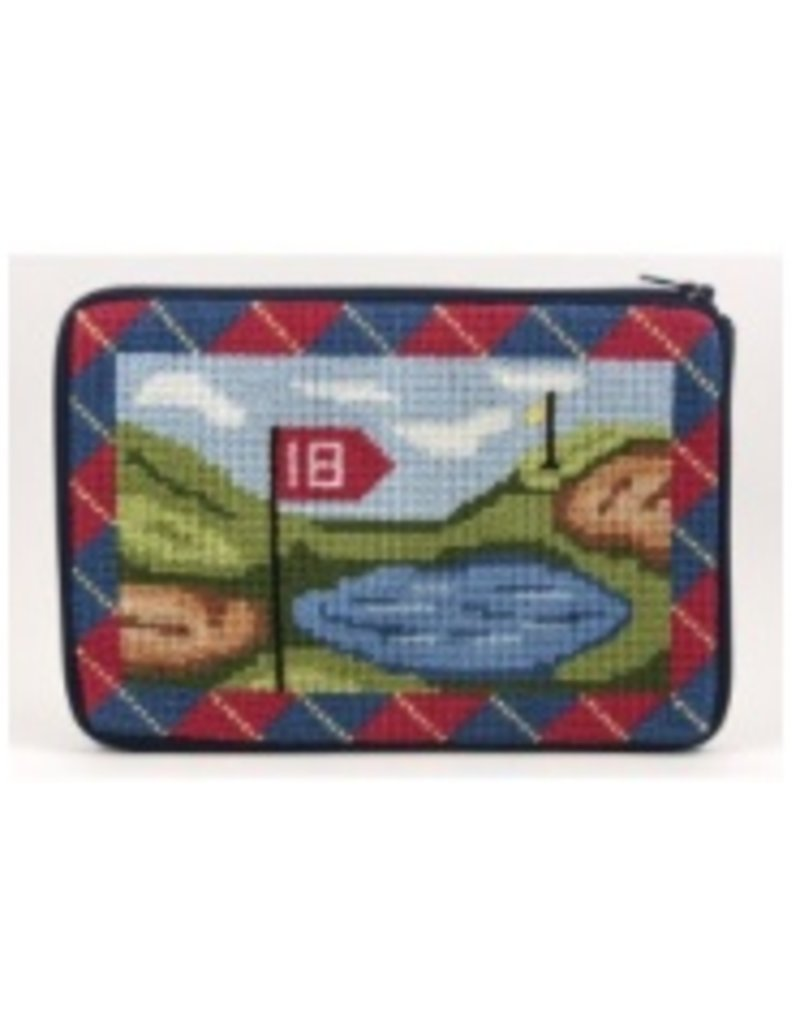 Alice Peterson Golfing cosmetic purse