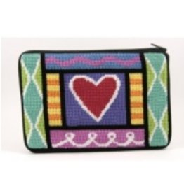 Alice Peterson Heart of Hearts cosmetic purse