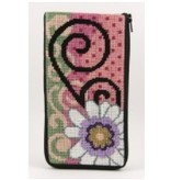 Alice Peterson Daisy Swirl Eyeglass Case