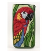 Alice Peterson Parrot Eyeglass Caset