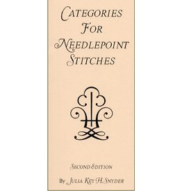 Julia Snyder Categories for Needlepoint Stitches