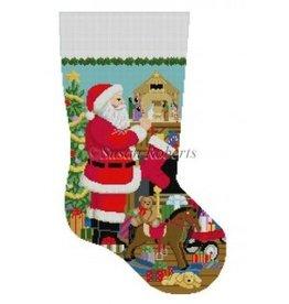 Susan Roberts Santa, Nativity stocking