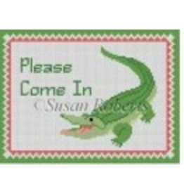 Susan Roberts Alligator, &quot;Please Come In&quot;<br />