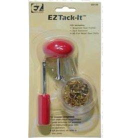 "Lacis Tack Kit ""EZ Tack-It"" Plastic Handle - Red"
