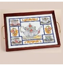 Sudberry House Large tea tray  <br />10.75&quot; x 14.75&quot;