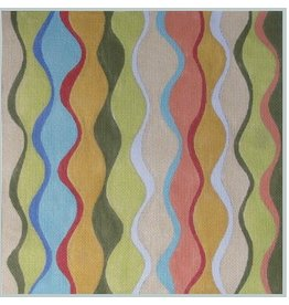 Julie Mar Wavy Harlequin in Rainbow Colors<br />