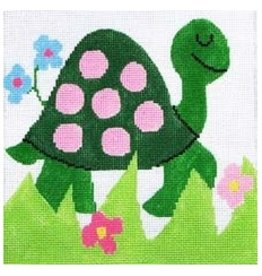 "Jean Smith Designs Small Turtle 4"" Square"