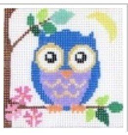 """Jean Smith Designs Owl 4"""" square"""