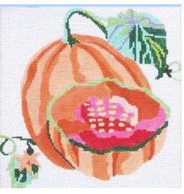 "Jean Smith Designs Cantalope Coaster 4"" Square"