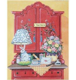 Fleur de Paris L&#039;Ecritoire<br />13&quot; x 10.5