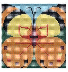 "Barbara Russell Youth Collection:  Butterfly 5""x5"""