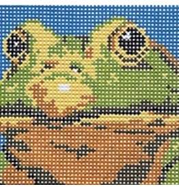 Barbara Russell Youth Collection:  Frog<br />5&quot; x 5&quot;