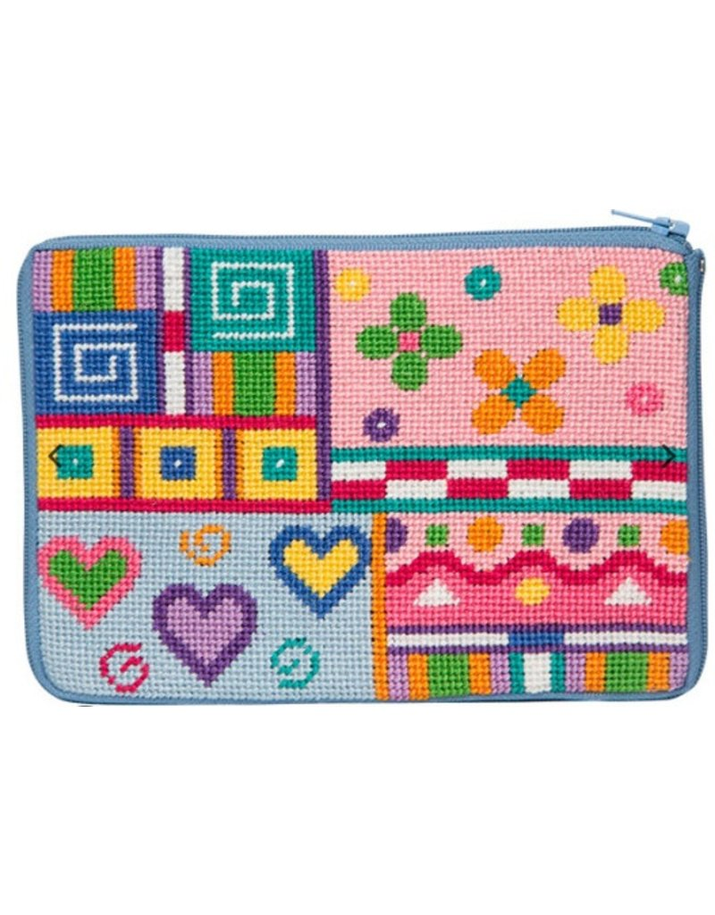 Alice Peterson Patchwork Cosmetic Purse