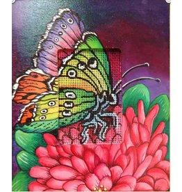 Robbyn's Nest Neon Butterfly w/frame