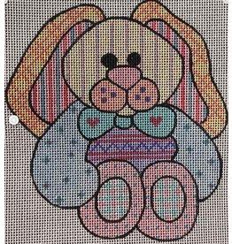 Robbyn&#039;s Nest Patchwork Bunny<br />6&quot; x 5&quot;