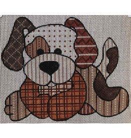 Robbyn&#039;s Nest Patchwork Puppy<br />6&quot; x 5&quot;