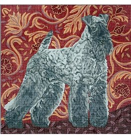 Barbara Russell Kerry Blue Terrier<br />
