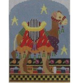 NeedleDeeva Camel - ornament<br />4.5&quot; x 6&quot;