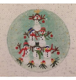 BB Needlepoint Design Snowman Pyramid<br />