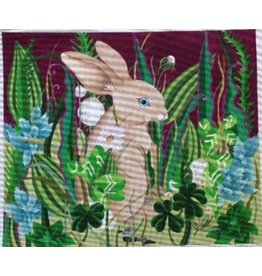 Fleur de Paris Garden Moonlight Bunny<br />16.25&quot; x 19.25&quot;