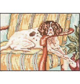Needle Crossing English Pointer<br />