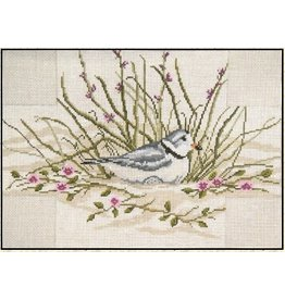 Needle Crossing Piping Plover Brick Cover