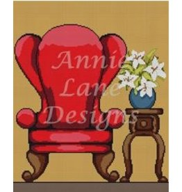 Annie Lane Designs Red Chair<br />