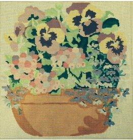 Jean Smith Designs Patio Pot<br />14&quot; x 14&quot;