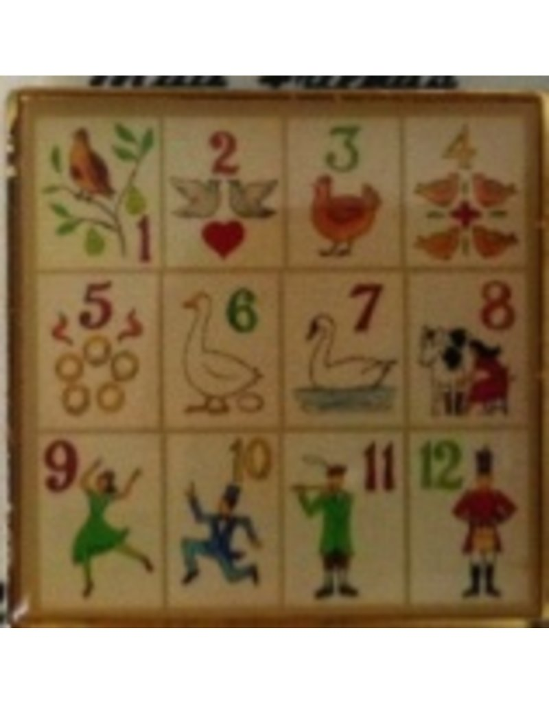 Accoutrement Designs Magnet - 12 Days of Christmas