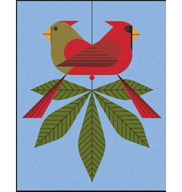 Meredith Charley Harper&#039;s <br />Cardinals Consorting<br />13&quot; x 9&quot;