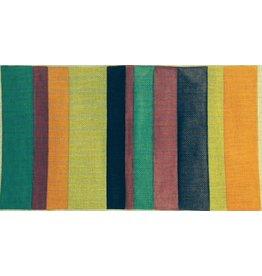 Elizabeth Turner Kate Purse - Colorful Stripes<br />18&quot; x 10&quot;