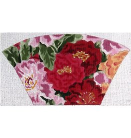 Elizabeth Turner Fan Clutch - Roses &amp; Pinks<br />
