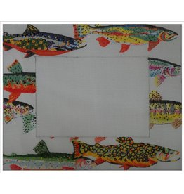 Waterweave Trout Frame (with Stitch Guide)<br />