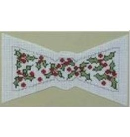 Julia Bow Tie - Christmas Holly