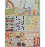 Alice Peterson Boys 1-10 Numbers<br />12&quot; x 16&quot;