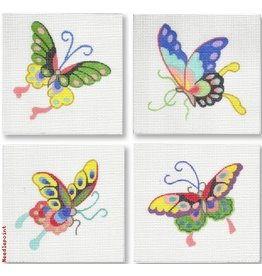 Kate Dickerson Chinese Butterflies - Coasters<br />