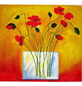 Julia Poppies in Vase