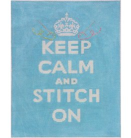 Kate Dickerson Keep Calm &amp; Stitch On<br />