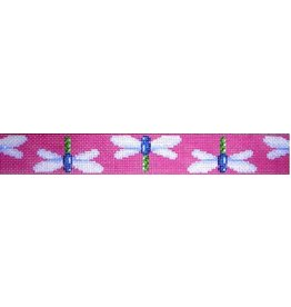 Associated Talent Dragon Fly on Pink Belt