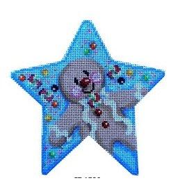 Associated Talent Gingerbread Boy Star<br />5&quot; x 5&quot;