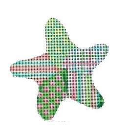 Associated Talent Dots Patch Starfish Ornament