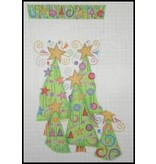 A Collection of Designs Trees - Stocking