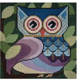 JP Needlepoint Who Gives A Hoot<br />